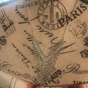 Joan Vass Genuine Crystal Necklace